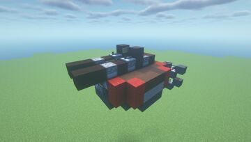 WST Mk2  -  Mini Scattershot TNT Cannon ( Adjustable Arc   Movecraft Compatible   Scattershot   Turret ) Minecraft Map & Project