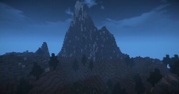 Hills and Cliffs with Caverns map Minecraft Map & Project