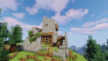Klippwacht Castle Minecraft Map & Project