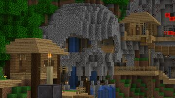 MINECRAFT Legacy Console Edition: Battle Mode Remastered: Cove Minecraft Map & Project