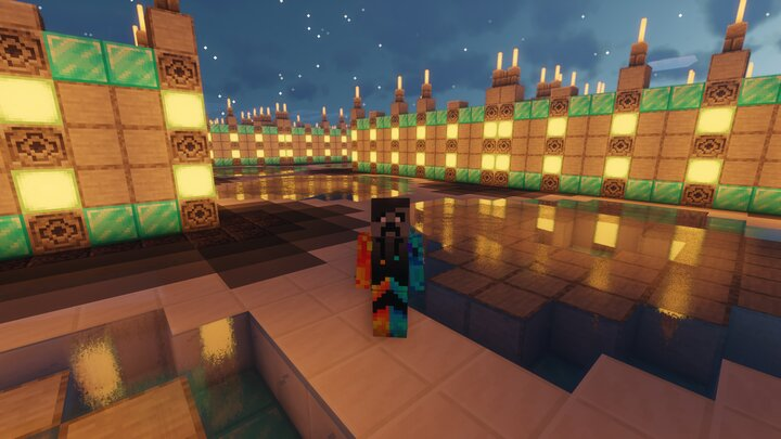 Me In My Maze With Shaders, Dying Pc Noises...