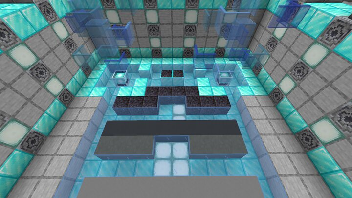 this is a teleporter, it will bring you to the second part of the maze