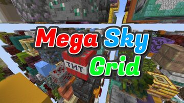 Mega Sky Grid Minecraft Map & Project
