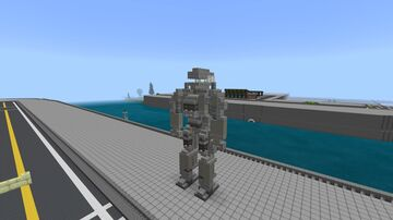 Fallout 4 Liberty Prime Minecraft Map & Project