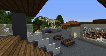 prehistoric park Demo Minecraft Map & Project