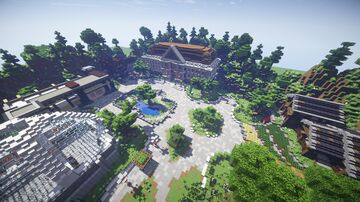 Town Square 2.0! Minecraft Map & Project