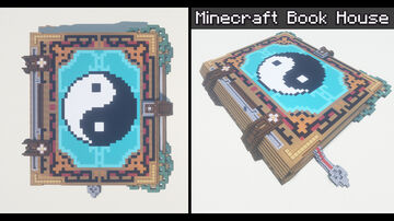 Minecraft Book House Minecraft Map & Project