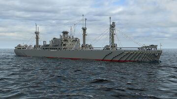 SS Arthur M. Huddell (Liberty-Class ship) Minecraft Map & Project