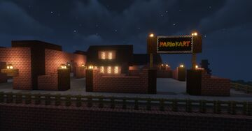 Twilight House (Mario Kart DS) Minecraft Map & Project