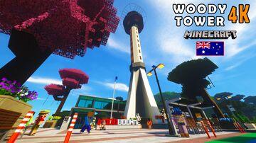 Minecraft Australia Woody Tower Episode 2 Minecraft Map & Project
