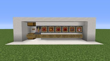 Semi Automatic Brewery for all potions Minecraft Map & Project