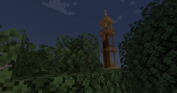 Vigilance tower Minecraft Map & Project