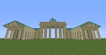 Brandenburger Tor (OUTDATED) Minecraft Map & Project