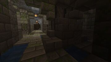 Randomly Generated Dungeon! - Command block Recreation 100% Customizable Minecraft Map & Project