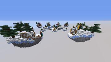 HollowBedWarsMapWinterThemed Minecraft Map & Project