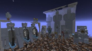 Dwarven Statues Minecraft Map & Project