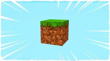 un bloque Minecraft Map & Project