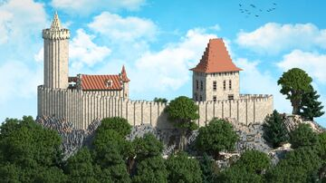 Kokorin Castle | Krysot | (with download) Minecraft Map & Project