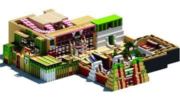 Palace Electra. Inspired by Yu-Gi-OH! Minecraft Map & Project