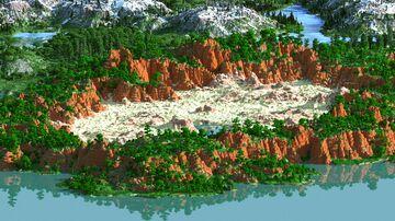 Lios - 4000x4000   Landscape Map 1.15 - 1.16   Bedrock support Minecraft Map & Project