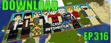 Em busca da casa automática 316 Minecraft Map & Project