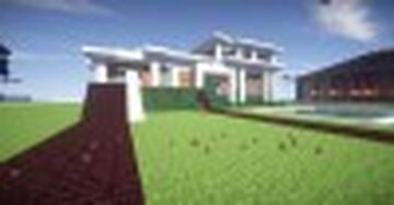 Summer Fun [Modern Summer Home With Pool] Minecraft Map & Project