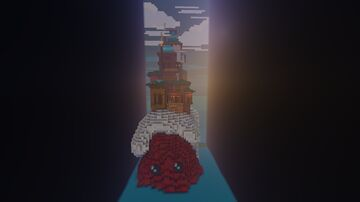 HERMIT CRAB HOUSE [BUILD ON BUILDERSREFUGE] Minecraft Map & Project