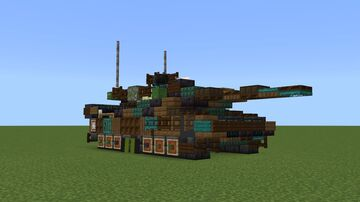 Leopard2A7+ MBT (1.5:1) Minecraft Map & Project