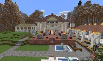 Templum Junonis-Anneae ad Octodro Minecraft Map & Project