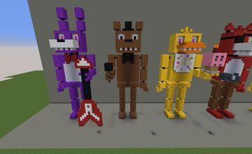 FNAF Character - Freddy Faz Bear Minecraft Map & Project