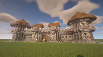 Stronghold Fort Minecraft Map & Project