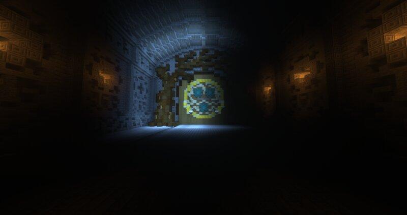 Entrance to the sanctuary