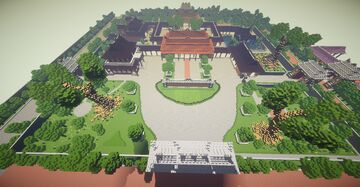 Imperial city: Huế ( Part 24) - Cung Dien Tho Minecraft Map & Project