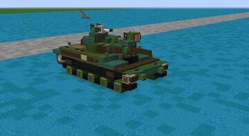 M551 Sheridan (2:1 Scale) Im Back!!!! Minecraft Map & Project