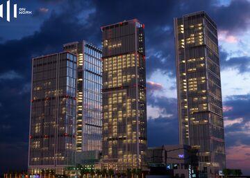 Chengdu International Finance Square (IFS) 1:1 Minecraft Map & Project
