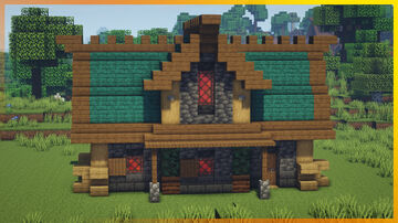 ⚒️ Minecraft: Survival Medieval House Minecraft Map & Project