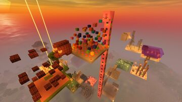 The Impossible Parkour Minecraft Map & Project