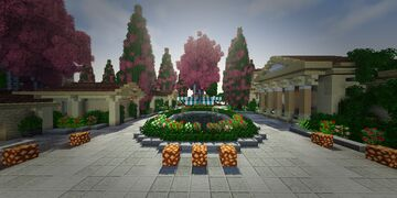 Greek style skyblock spawn - 1.16 Minecraft Map & Project