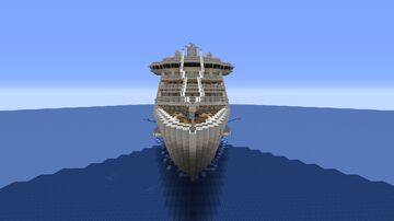 Ocean Princess - Minecraft Cruise Ship 1.16.3 Minecraft Map & Project