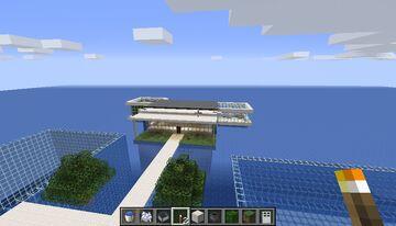 casa humilde en medio de el mar Minecraft Map & Project
