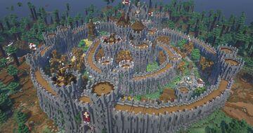 Dawnfury Castle | Handbuilt in Survival Minecraft Map & Project