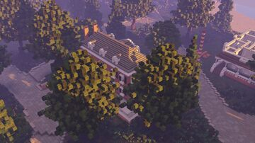 Colonial house Minecraft Map & Project