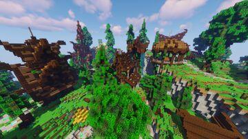 Ellesmera (Elven City) Minecraft Map & Project