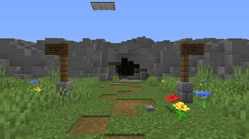 Lost in the Cavern Minecraft Map & Project