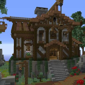 Medieval House by GrizzlyFirePike Minecraft Map & Project