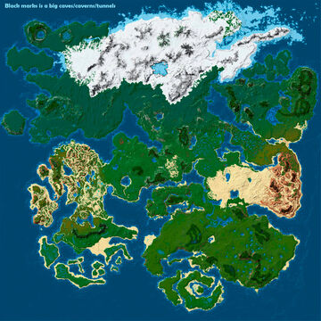 Arctic - Lands of Acramus Minecraft Map & Project