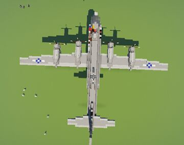 B-29 Superfortress Minecraft Map & Project