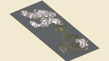 Bizamiir Remade 5kx5k Minecraft Map & Project