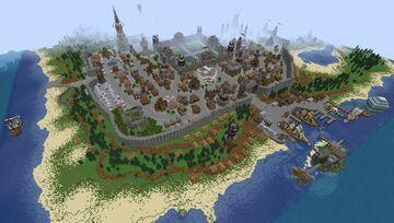 Pinehill City Minecraft Map & Project