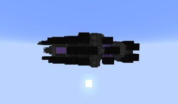 underworldy spaceship Minecraft Map & Project